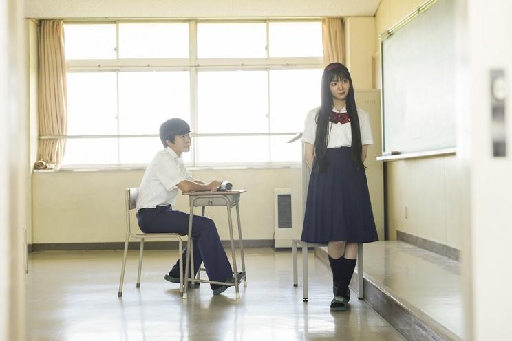 左から、鈴木福、末永桜花(SKE48)