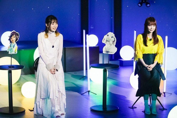 幾田りら、中川翔子<Netflix映画『フェイフェイと月の冒険』オンラインライブ&トークイベント>(2020年10月15日)