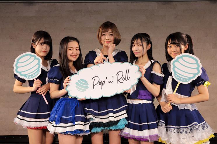 左から赤星那奈、青井海優、夏野大空、藍崎ゆきね、殿川遥加(くるーず⚓️CRUiSE!)|<ぽぷろないとVol.4>(2018年11月28日)