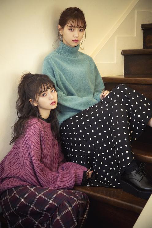 『GRL』2018年冬イメージビジュアル(乃木坂46 齋藤飛鳥/西野七瀬)