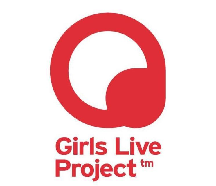 『Girls Live Project』ロゴ(デザイン:澤井真吾)