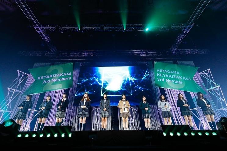 欅坂46、けやき坂46<お見立て会>(2018年12月10日 日本武道館)より