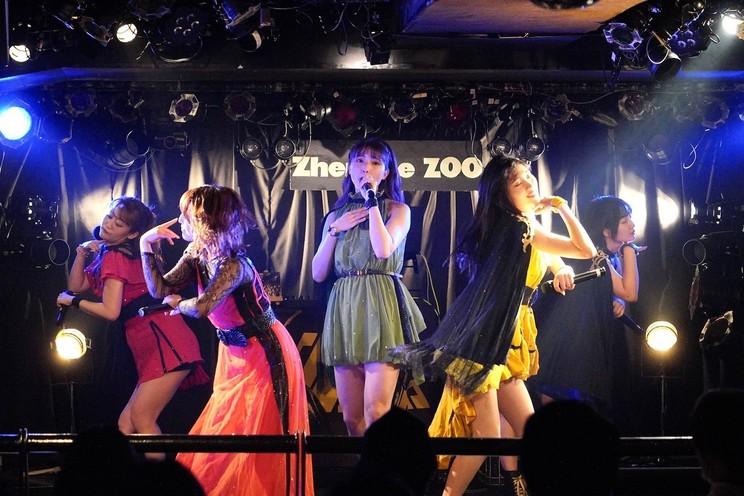 <アップアップガールズ(仮)meets DJ KURO-OBI 6thアルバム(仮)リリースライブ>Zher the ZOO YOYOGI(2020年10月25日)