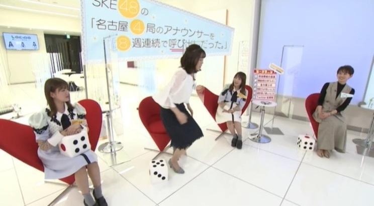 『SKE48の「名古屋4局のアナウンサーを8週連続で呼び出したった。」』より