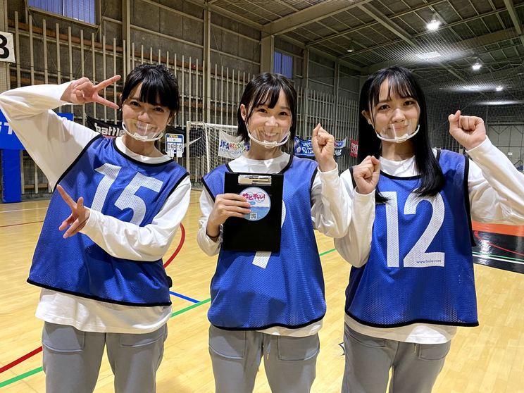 STU48(田中皓子、MC 甲斐心愛、石田千穂)『せとチャレ!STU48』×『HKT青春体育部!』より