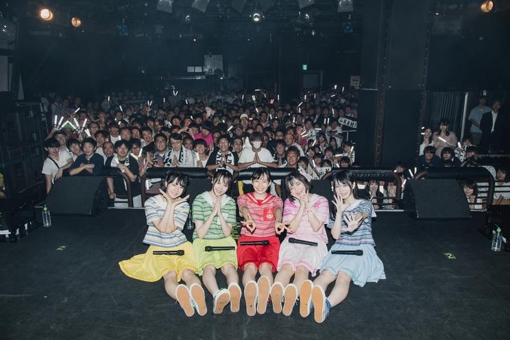 <神が宿る場所〜東名阪クアトロツアー〜 Supported by SHOWROOM>東京公演/撮影:真島洸(M.u.D)