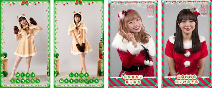 HKT48、NGT48 デジタルトレーディングカードより
