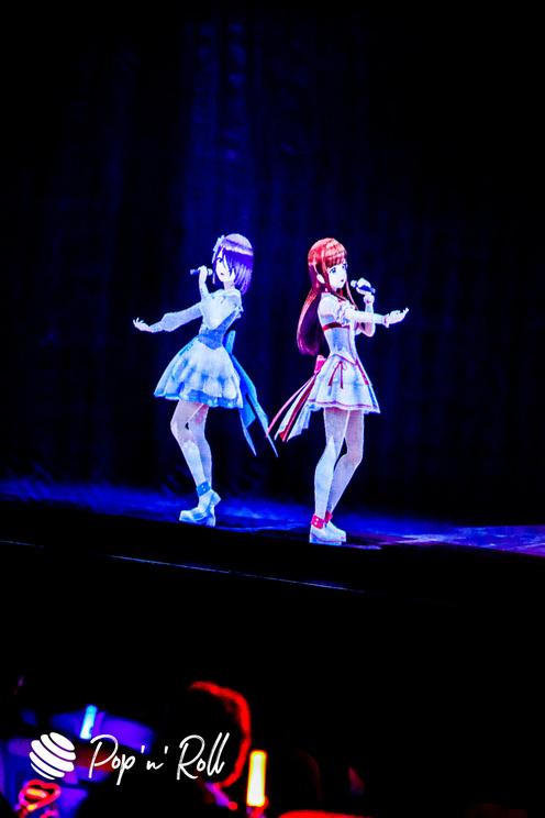 鈴木あんず、白藤環<えのぐワンマンLIVE2020 -だからいま、ここにいる。->第一章公演 ヒューリックホール東京(2020年12月29日)