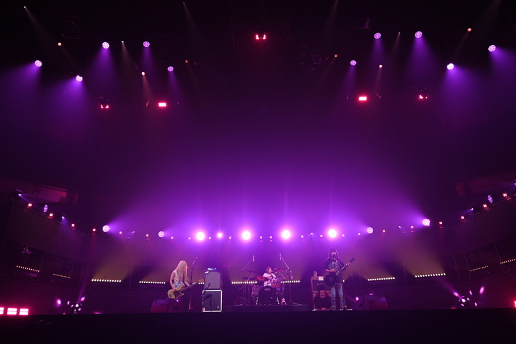 the peggies(ⓒSony Music AnimeSongs ONLINE 日本武道館)