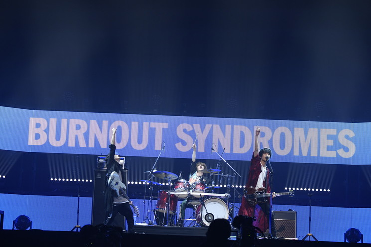 BURNOUT SYNDROMES(ⓒSony Music AnimeSongs ONLINE 日本武道館)