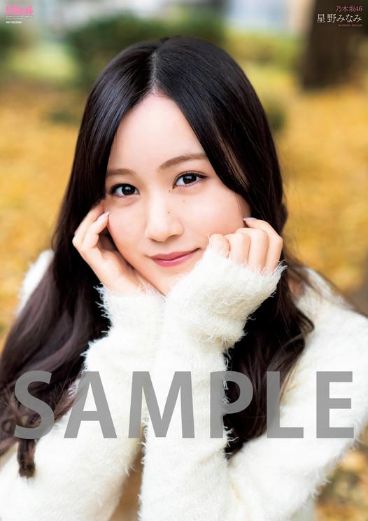 星野みなみ(乃木坂46)/超ビッグ(B2サイズオーバー)両面ポスター