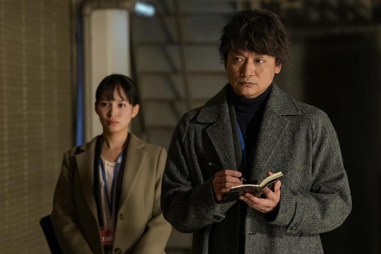 """『アノニマス~警視庁""""指殺人""""対策室~』より"""
