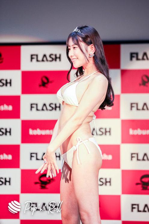 名取くるみ<ミスFLASH2021選考オーディション>グランプリ発表会見(2021年1月18日)