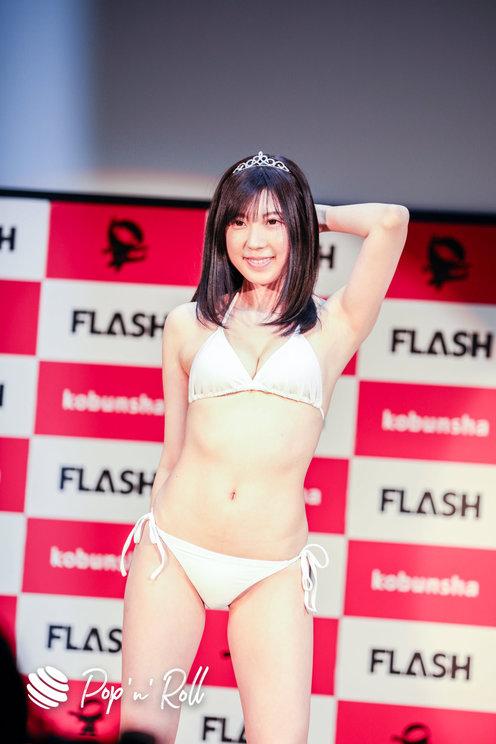 高槻実穂<ミスFLASH2021選考オーディション>グランプリ発表会見(2021年1月18日)