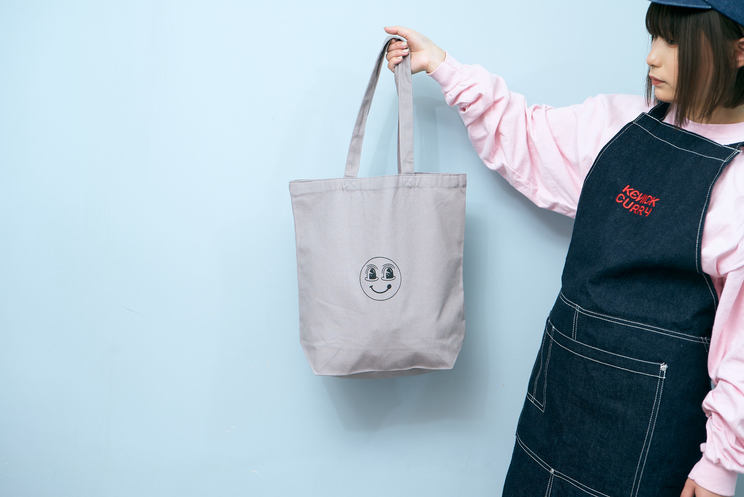 KENICKCURRY TOTE BAG(GRAY)