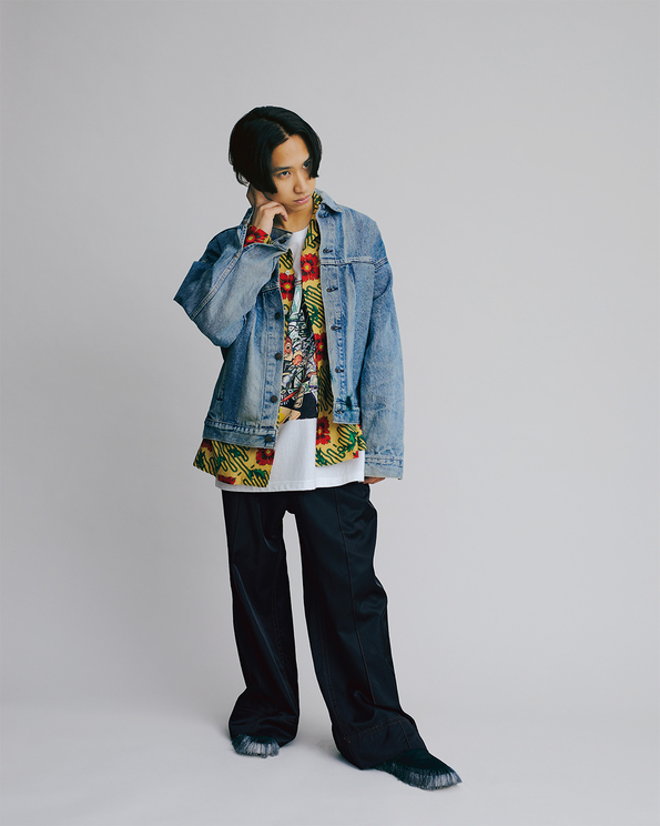『装苑』2021年3月号より(撮影:熊谷勇樹)