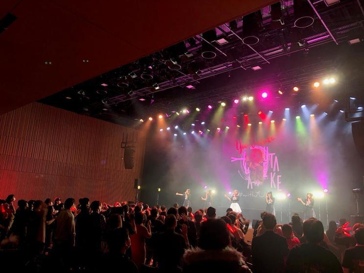 アンダービースティー<植竹優亜生誕祭>(神田明神ホール/2021年1月29日)より PHOTO:KURO