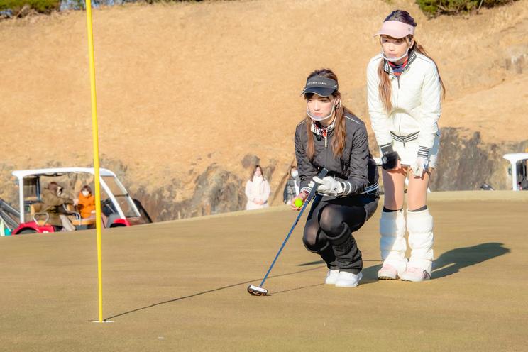『ゴルフ女子 ヒロインバトル』より
