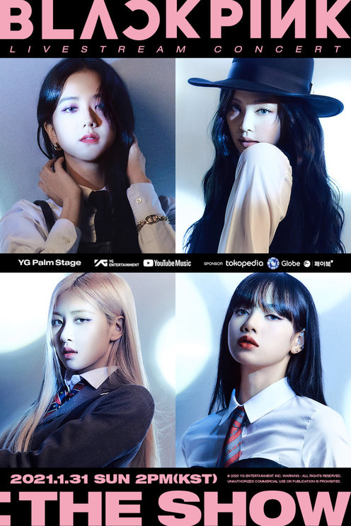 <YG PALM STAGE - 2020 BLACKPINK: THE SHOW>ポスター