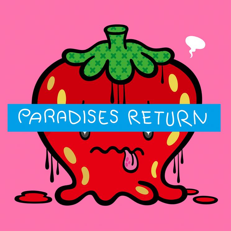 「PARADISES RETURN」配信ジャケット