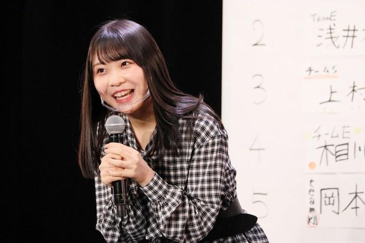 浅井裕華<SKE48 28thシングル カップリング収録「ティーンズユニット」メンバー投票企画 速報発表イベント>(2021年2月7日)