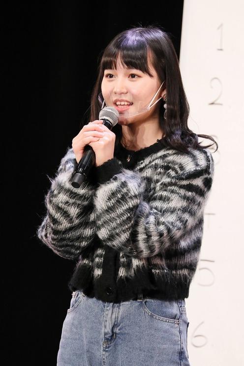 上村亜柚香<SKE48 28thシングル カップリング収録「ティーンズユニット」メンバー投票企画 速報発表イベント>(2021年2月7日)