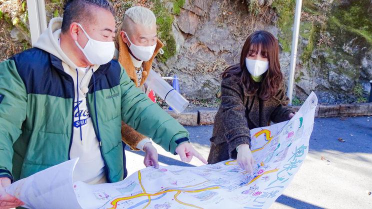 メ~テレ『僕らの地図でつながり旅』より