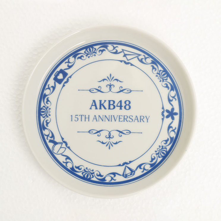 AKB48 15th anniversary ミニプレート
