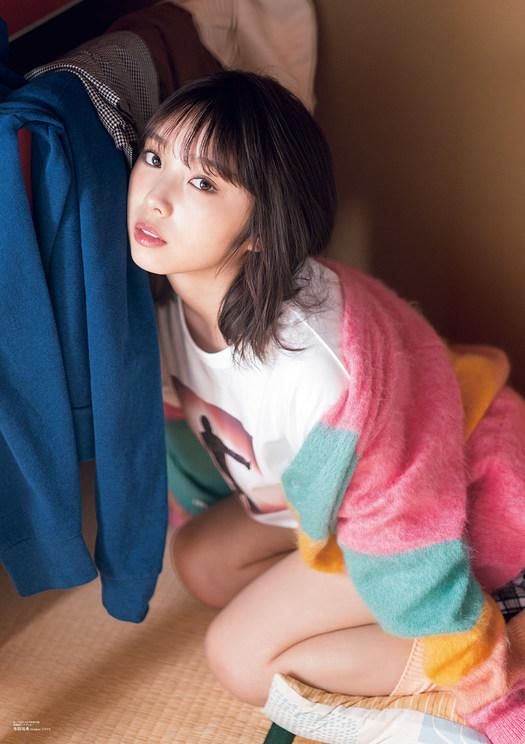 『B.L.T.2021年4月号』別冊付録:与田祐希(乃木坂46)両面超ビッグポスター(裏)