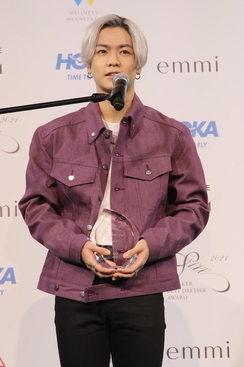 川村壱馬<SNEAKER BEST DRESSER AWARD(スニーカーベストドレッサー賞)2021 授賞式・記者発表会>(2021年2月22日)