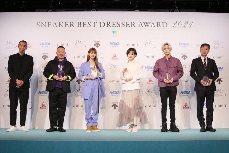 <SNEAKER BEST DRESSER AWARD(スニーカーベストドレッサー賞)2021 授賞式・記者発表会>(2021年2月22日)