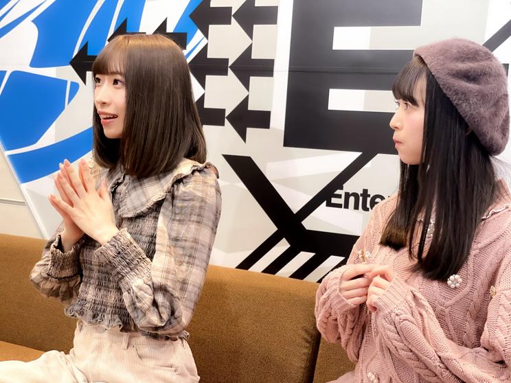中島優衣、富沢恵莉
