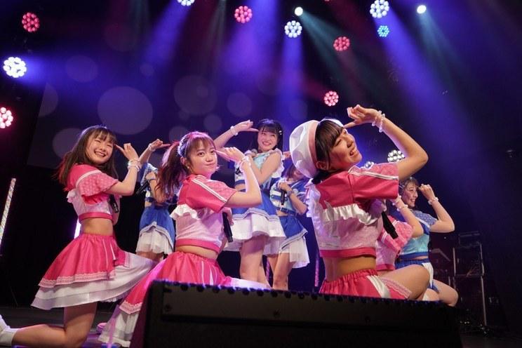 <アップアップガールズ(2)でっかい会場に愛がある Let'sぱーれぇ~>Veats Shibuya(2021年2月28日)