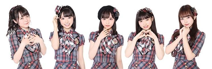 西川怜、山内瑞葵、小栗有以、久保怜音、大盛真歩 ©AKB48
