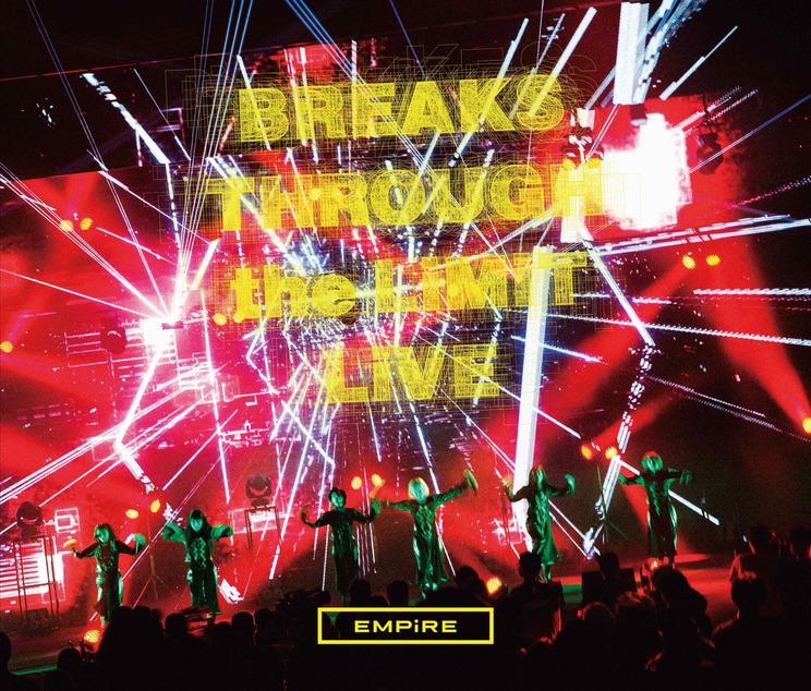 『EMPiRE BREAKS THROUGH the LiMiT LiVE』Live CD盤 CD3枚組(スマプラ対応)