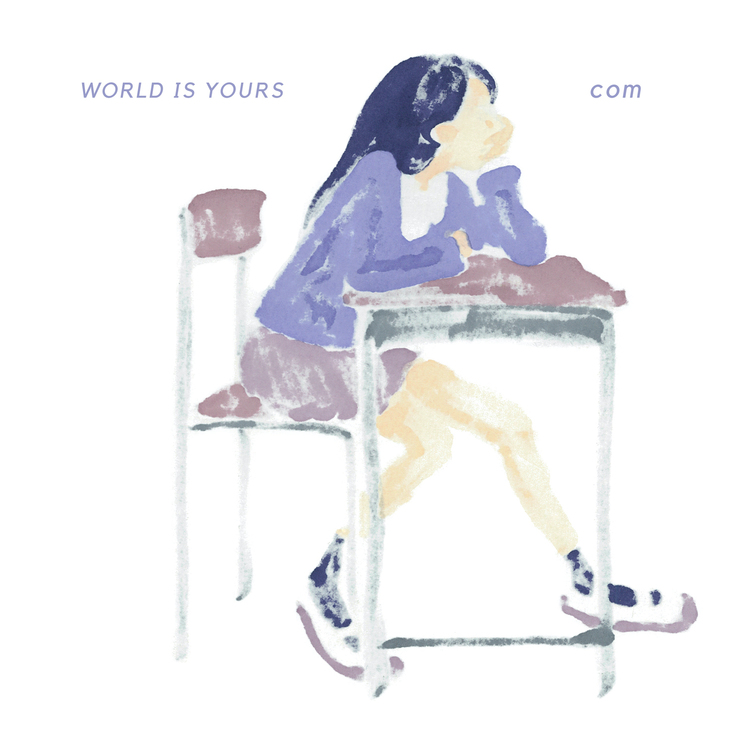 1st EP『WORLD IS YOURS』ジャケット