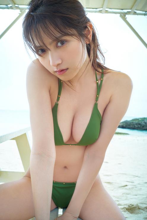 桃月なしこ((c)本武志/週刊プレイボーイ)