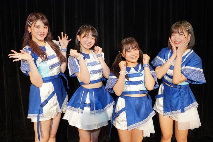 <アップアップガールズ(2) あお組4>表参道GROUND(2021年3月24日)