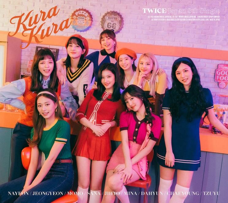 JAPAN 8thシングル「Kura Kura」初回限定盤Aジャケット