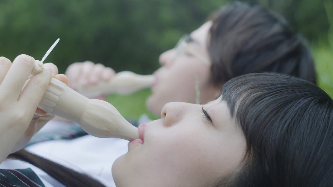吉柳咲良、心が痛くなるほどの表情で切ない恋のストーリーを彩る! 『パピコ』新WEB動画出演