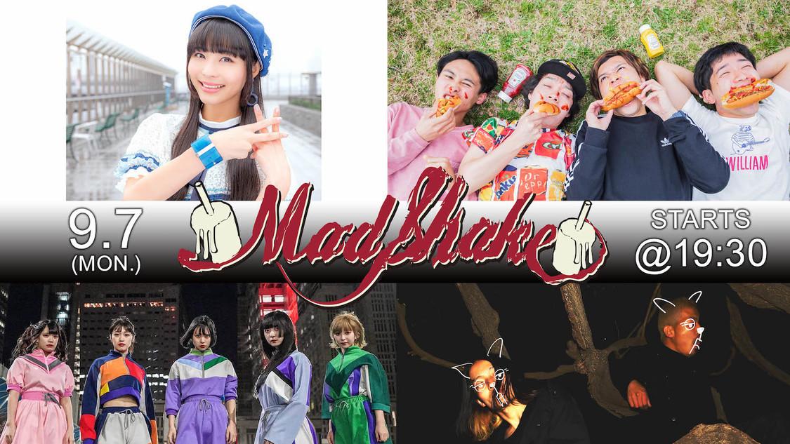 寺嶋由芙、SOMOSOMO、生配信ライブ<MAD SHAKE VOL.1>出演決定!