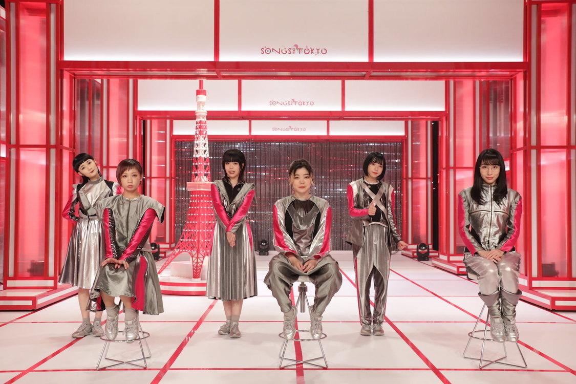 BiSH、海外ファンの熱量に思わず涙。音楽番組『SONGS OF TOKYO』出演