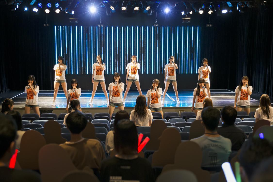 NMB48[イベントレポート]200日ぶりの有観客公演で7期生お披露目! 大阪城ホール2DAYS公演発表も「NMB48を応援していてよかったと思ってもらえるコンサートにしていきたい」