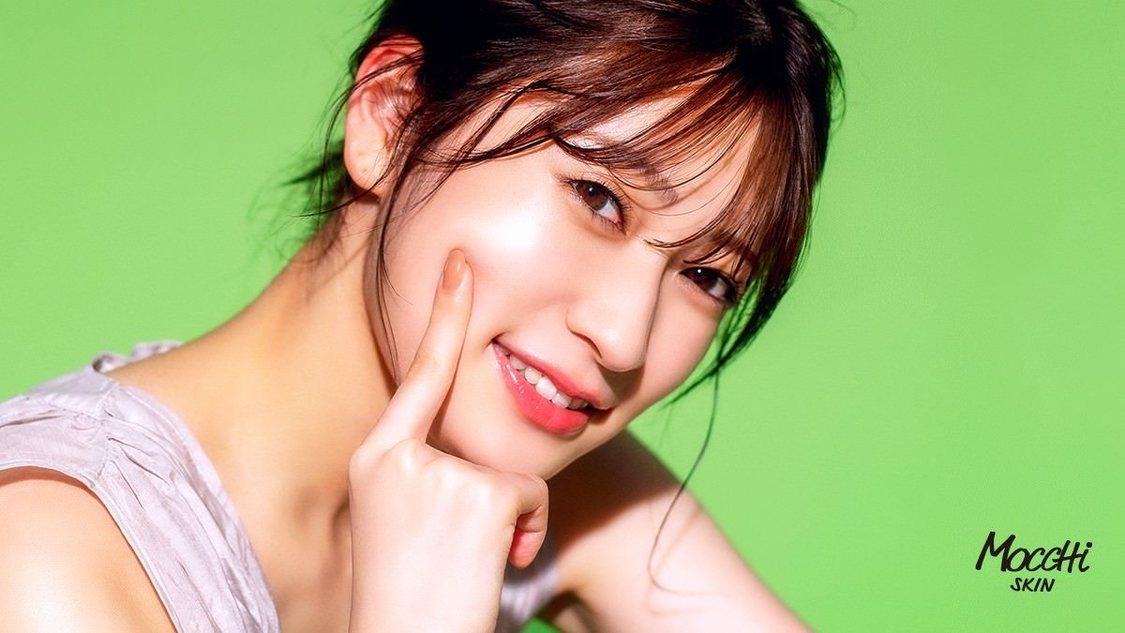 NMB48 吉田朱里、透明感溢れる美肌を披露! モッチスキン新商品WebCM出演