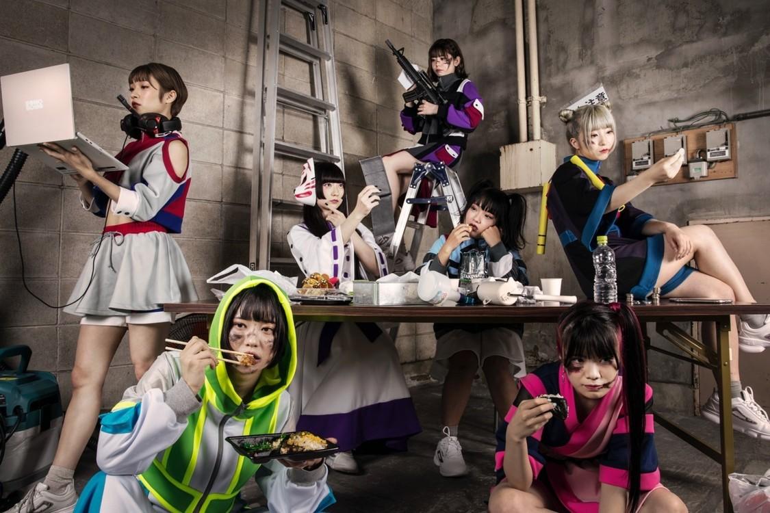 SOMOSOMO、新メンバー2名を加え新体制ビジュアル公開!衣装コンセプトは「作業着」