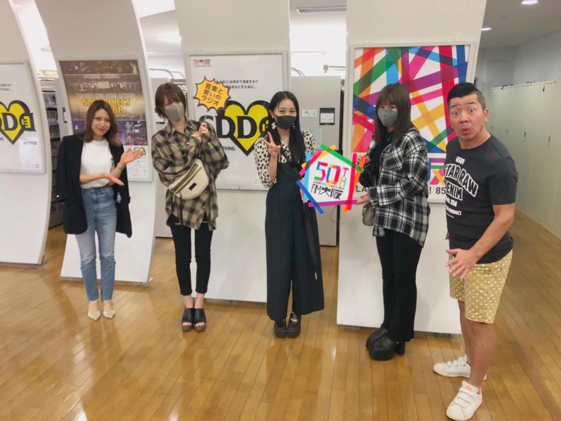 NMB48 石田優美、小嶋花梨、山本彩加、10/9にFM大阪で10周年祭り!
