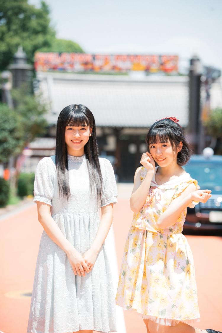九州女子翼・実玖&愛理、行ってみたかった浅草散歩「江戸って感じで時代劇みたい」