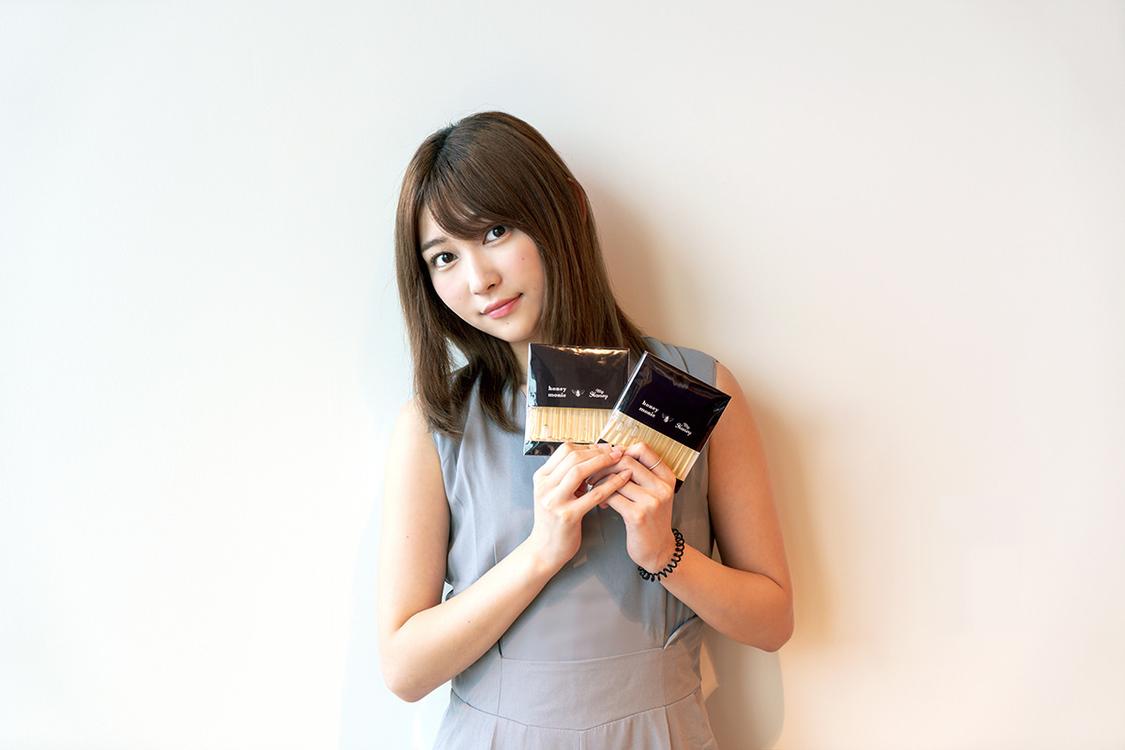 志田愛佳、持ち歩きができる生はちみつをプロデュース!「素敵な商品が完成しました」