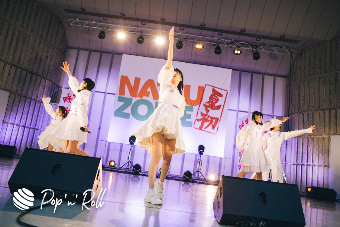 真っ白なキャンバス[NATSUZOME2020 Legendライブレポート]初めての日比谷野音で堂々と届けた熱きパフォーマンス