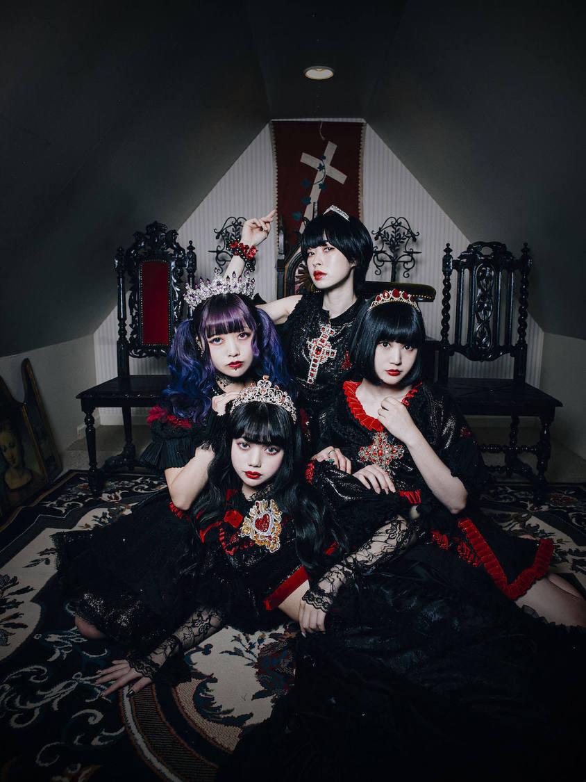BLACKNAZARENE、4作連続MV第1弾は人生の死がテーマ!「BAD END」MV解禁